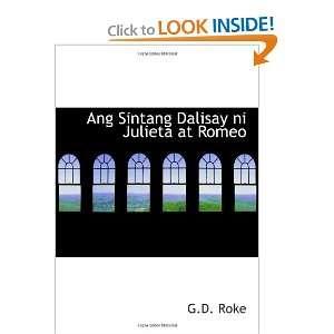 Ang Sintang Dalisay ni Julieta at Romeo (9780554011790) G