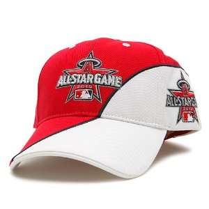 of Anaheim 2010 All Star Game Avalanche Cap   White/Scarlet Adjustable