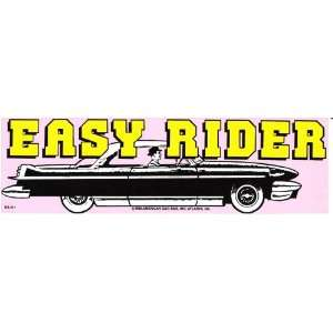 EASY RIDER decal bumper sticker