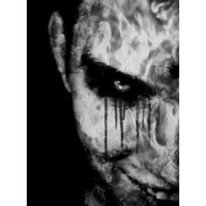 Face Of Horror 8x10 Iron on T Shirt Transfer Everything