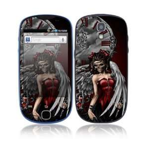 Gothic Angel Decorative Skin Cover Decal Sticker for Samsung Gravity
