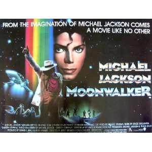 Moonwalker   Michael Jackson   Movie Poster Print