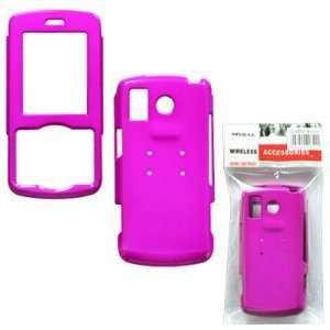 LG Rhythm AX585 Solid Hot Pink Phone Protector Cover Hard