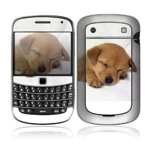 BlackBerry Bold 9900/9930 Decal Skin Sticker   Animal Sleeping