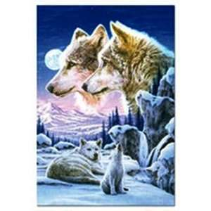 Howling Cub Crop Jigsaw Puzzle 500pc  Toys & Games