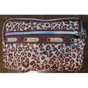Leopard Cerrado Print Lesportsac Travel Cosmetic Wallet 3