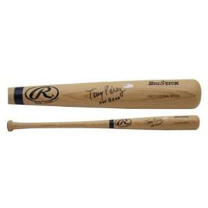 Tony Perez Autographed Bat  Details Blonde Big Stick Baseball Bat