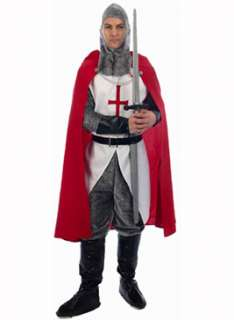 Knight Costume, Henbrandt  England Fancy Dress  Escapade Fancy Dress