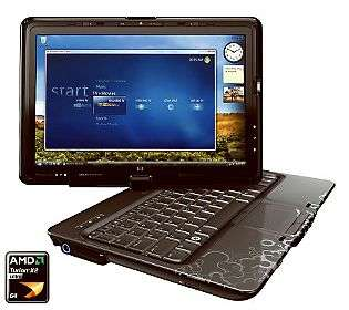 HP TouchSmart Notebook PC AMD Turion X2 12.1DiagScreen   QVC