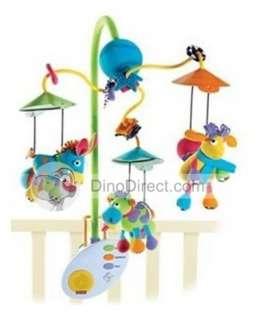 Classic Baby Cartoon Animals Musical Crib Mobile   DinoDirect