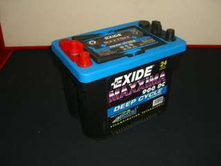 Exide Maxxima 900 DC Deep Cycle Battery |