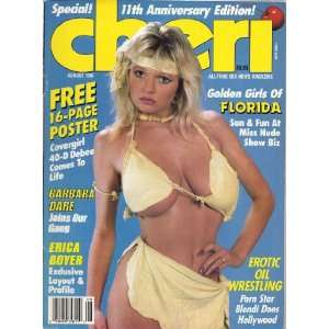 : CHERI AUGUST 1987 BARBARA DARE, ERICA BOYER: CHERI MAGAZINE: Books