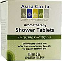 Aura Cacia Purifying Aromatherapy Shower Tablets Eucalyptus    3