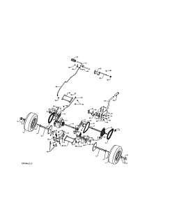 John Deere Lt160 Mower Deck Belt Diagram 669002 likewise Dixie Chopper Diagram moreover 37 also John Deere Mower Belt Installation moreover Change Mower Belt Craftsman 917270821 A 387841. on john deere 261 mower diagram