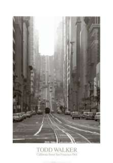 California Street, San Francisco, 1964 Prints by Todd Walker at