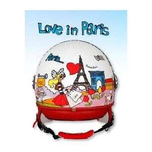 Casco Love in Paris caschi demi jet braccialini Abbigliamento Moto