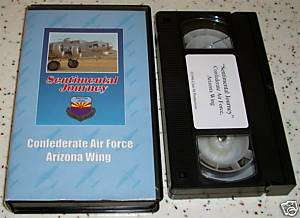 Sentimental Journey Confederate Air Force AZ Wing VHS