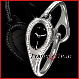 Gucci Ladies Diamond Bangle Bracelet Dress Sexy Watch