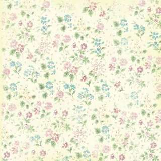 44 02340 Melissa Frances VINTAGE POSEY Scrapbooking Paper Ella Detail