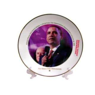 Wholesale Closeouts   The 2008 Democratic Nomination Collectors Plate