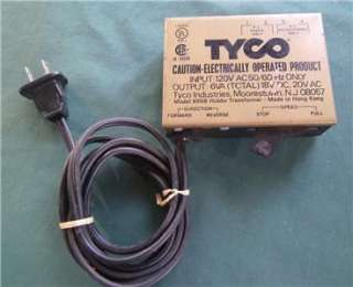 TYCO TRAIN POWER SUPPLY MODEL 899B HO SCALE RAILROAD RR TRAIN SET