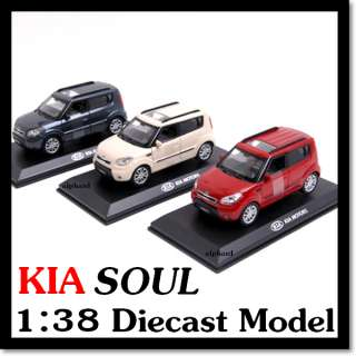 KIA BrandCollection] KIA SOUL Diecast Model Mini Car