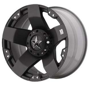 20 inch KMC XD Rockstar black wheels 5x135 Ford F150