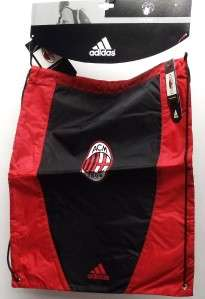 New AC Milan Adidas Soccer Gym Bag New in Package