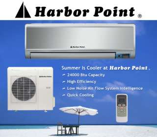 24000 Btu Air Conditioner Heat Pump ductless mini split