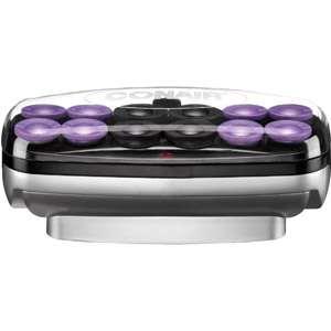 Conair Jumbo Ion Shine Instant Heat Soft Hair Setter, 12 Rollers