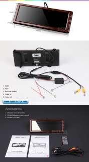 L0406 Eonon Walnut 10.2Digital LCD Car Mirror Monitor
