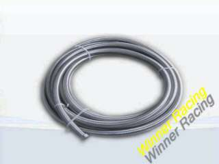 STAINLESS STEEL BRAIDED HOSE OIL/FUEL LINE AN8 FITTING 11.18MM(0.44