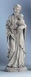 20 ST. JOSEPH with Baby JESUS Outdoor Garden Statue
