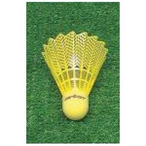 Badminton Shuttlecocks Carlton Optic Yellow   Pack of 6
