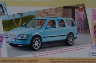 BARBIE NEW Happy Family Volvo Van SUV V70 Blue Vehicle Playset RARE