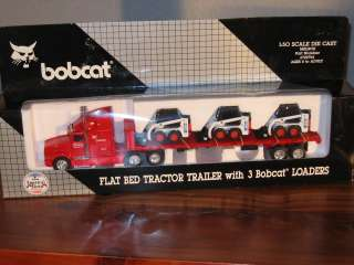 50 Bobcat Semi Tractor Trailer NIB Loader IH 753 H2F