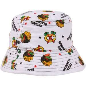 Era Chicago Blackhawks Infant Bucket Hat   White: Sports & Outdoors