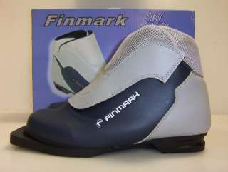 New Finmark NIB Boot 3 pin 75mm cross country ski boots women womens