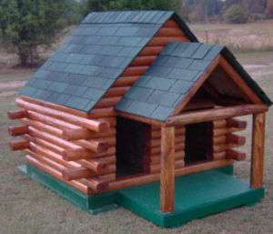 Dog House Plans   Duplex with porch 6x5