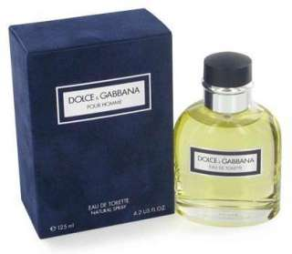 DOLCE & GABBANA Pour Homme * Cologne for Men * 4.2 oz * D&G * NEW IN