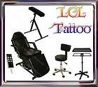TATTOO PACKAGE ELECTRIC MASSAGE TABLE CHAIR STOOL TRAY