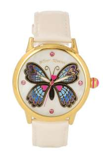 Betsey Johnson Lots n Lots of Time Butterfly Dial Watch