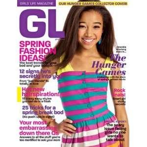 GL Magazine (Girls Life) Amandla Stenberg   Hunger Games