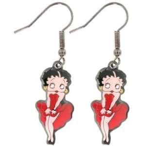 Marilyn Monroe Betty Boop Charm Dangle Earrings