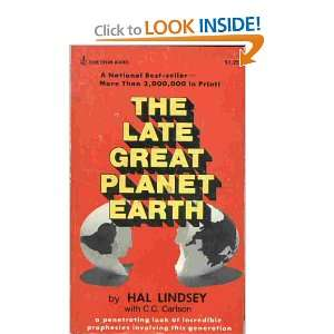 Late Great Planet Earth (9780310277774): Hal Lindsey: Books