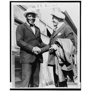 Jack Johnson,Bull Montana,Tijuana,Mexico,1919 or 1920