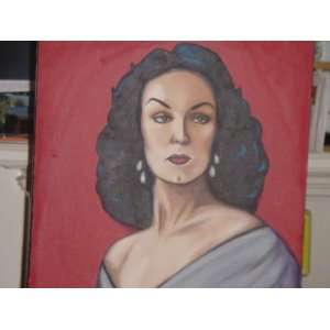 Maria Felix Oil on Canvas 16x20