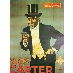Nick Carter Poster Movie 27x40