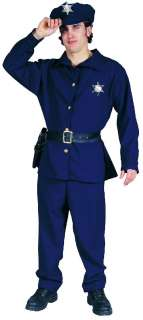 NEW MENS POLICEMAN COP LAW ENFORCEMENT OFFICER COSTUME