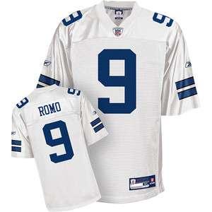 Dallas Cowboys Tony Romo #9 Home Football Jersey